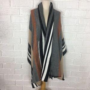 ZARA | Blanket Scarf/wrap/shawl